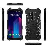 Simicoo HTC U11 plus Aluminum Metal Bumper Case Military