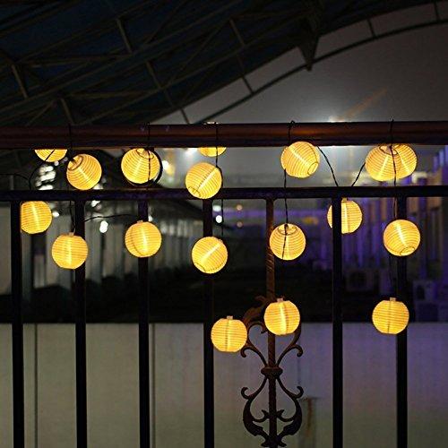 Solaire lanterne boule - Lanterne pour terrasse ...