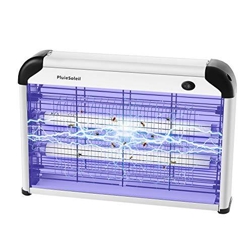 PluieSoleil Lampe Anti-Moustique Piège à Moustique Électronique, Moustique Tueur Lampe Insectes UV, Tueur Mouche Non Chimique...