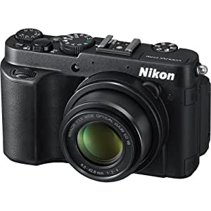 Nikon Coolpix P7700 12.2MP Point and Shoot Camera (Black) with 7.1x Optical Zoom, 4GB Card, Camera Case and HDMI Cable