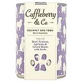 cuffle Berry & Co. Manzo, Wild, Albicocca e fagioli verdi con erbe 400G (Confezione da 4)