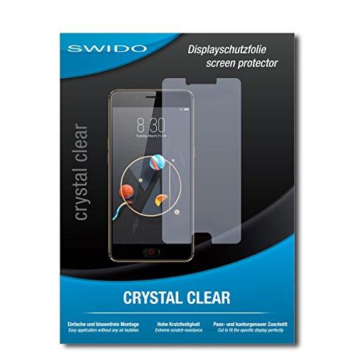 SWIDO Schutzfolie für Nubia N2 [2 Stück] Kristall-Klar, Hoher Härtegrad, Schutz vor Öl, Staub & Kratzer/Glasfolie, Bildschirmschutz, Bildschirmschutzfolie, Panzerglas-Folie