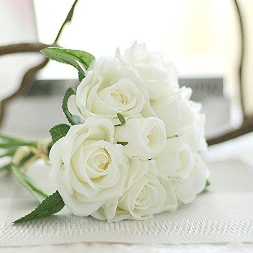 Fiori artificiali bouquet di rose di soggiorno,1