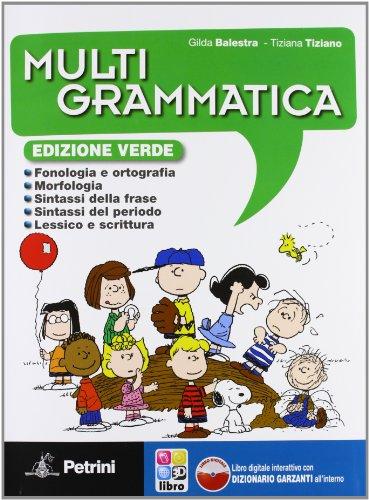 Multigrammatica. Con Palestra INVALSI. Edizione verde. Con espansione online. Per la Scuola media. Con CD-ROM
