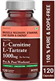 Carbamide Forte L-Carnitine L-Tartrate 1000mg Per Serving | Weight Loss, Fat Burner, Muscle