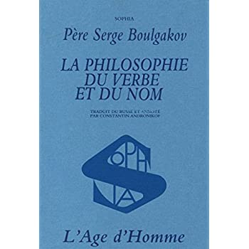 Philosophie du verbe et du nom