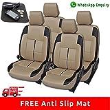 #10: Autofact PU Leatherite Car Seat Covers for Maruti Brezza