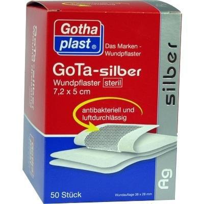 Gota Silber Wundpflaster 50 stk
