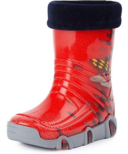 Ladeheid Botas de Agua Zapatos de Seguridad Calzado Unisex...