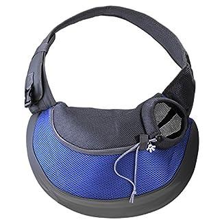 Mogoko Portable Dog Sling Bag Pet Shoulder Carrier Bag Breathable Mesh Single-Shoulder Pet Travel Carrier for Dog Cat Outside Walking 51Pj GxhUL