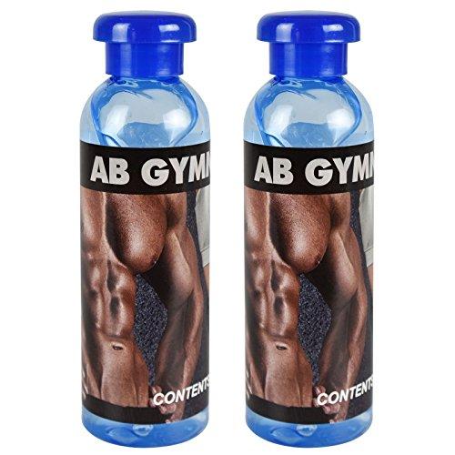 Unisex für Damen und Herren 100ml Original Gymnic auf Wasserbasis Kontaktgel Flaschen Toning ABS Muscle Bauch Beine Arme Taille Bum TENS Gürtel