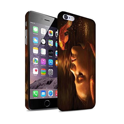 Officiel Elena Dudina Coque / Clipser Matte Etui pour Apple iPhone 6+/Plus 5.5 / Poissons d'Or Design / Agua de Vida Collection Poissons d'Or