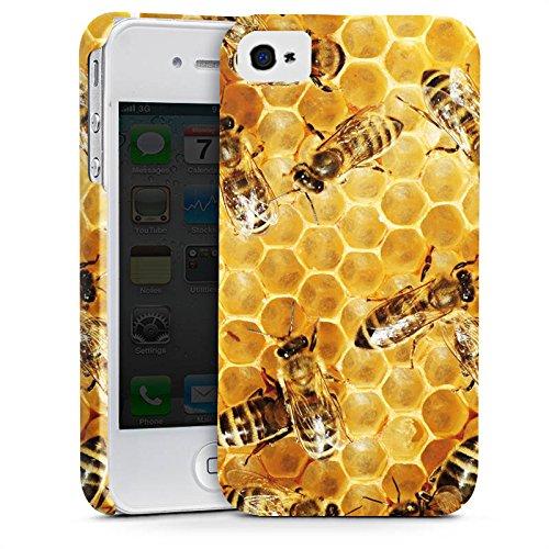 Apple iPhone 5s Hülle Case Handyhülle Bienen Biene Insekten Premium Case glänzend