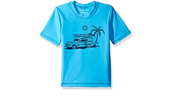 Seafolly Boys Rogue Sailor S//s Rashie
