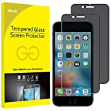 JETech Film de Protection d'écran pour iPhone 6s Plus et iPhone 6 Plus en Verre Trempé, Anti-Espion, Lot de 2