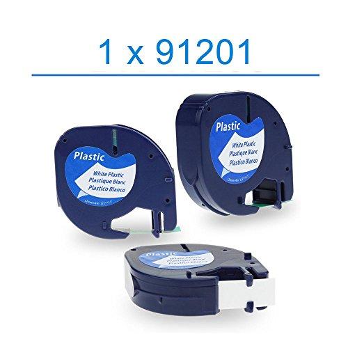 oyatr-1x-compatible-dymo-letratag-91201-noir-sur-blanc-12mm-x-4m-rubans-etiquettes-plastique-pour-et