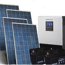 Kit Solar Casa Pro 2Kw 48V Sistema fotovoltaico independiente en la isla
