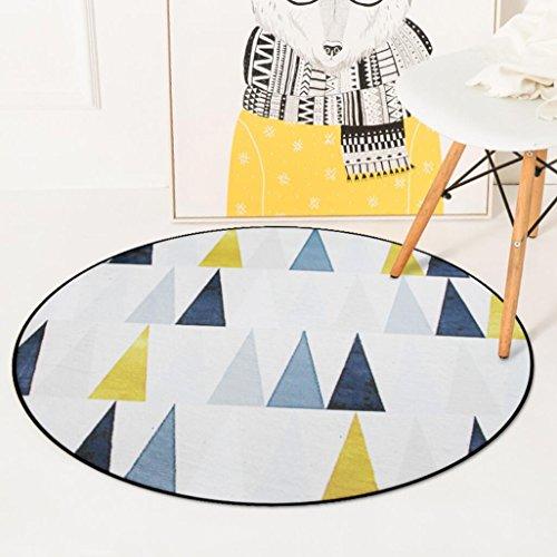 Baumwolle Traditionellen Stuhl (Arctic Scenery Runde Teppiche Schlafzimmer / Wohnzimmer Couchtisch Hängekorb Teppiche Computer Stuhl Pad , 3 , 120cm)