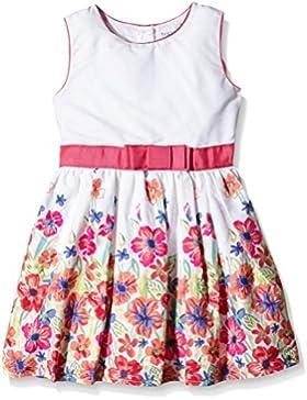 Happy Girls Mädchen Kleid Mit Blumenborte