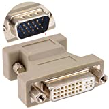 DVI Adapter DVI A Weiblich Buchse Zum Männlich VGA 15 Polig Stecker Konverter