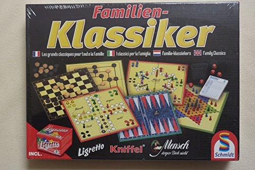 Schmidt Spielesammlung mit Kniffel und Ligretto
