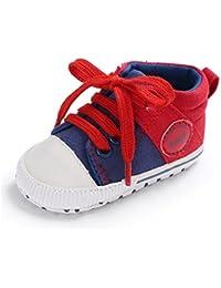 e9b3c8dda1b58 Amazon.fr   Rouge - Chaussures premiers pas   Chaussures bébé fille ...