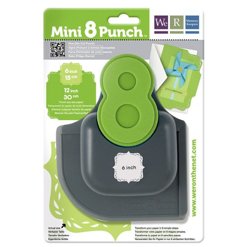 PUNCHES WE R MEMORY KEEPERS VINE MINI 8PUNCH