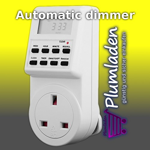 Automatic 60 min dimmer time switch Test