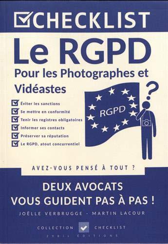 CHECKLIST Le RGPD pour les Photographes et vidéastes