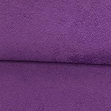 Tejido Werning de Rizo Liso, Color Lila, Albornoz, Toallas, Toallas de baño