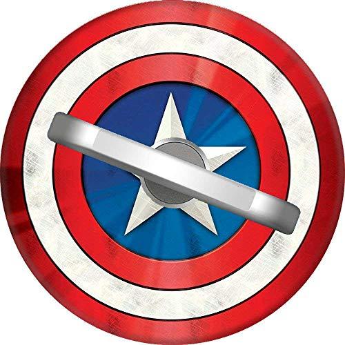RAHJK Telefon Handy Ring Captain America Schild Symbol, 360 Grad drehbar Finger Ring Griff Handy Halter kompatibel mit Smartphones und Tablets 1U204