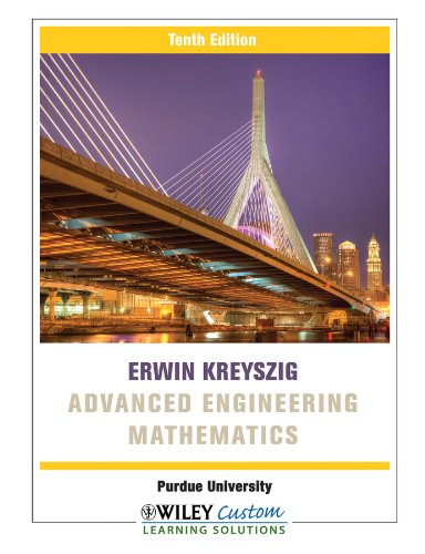 Advanced Engineering Mathematics 10e for Purdue University
