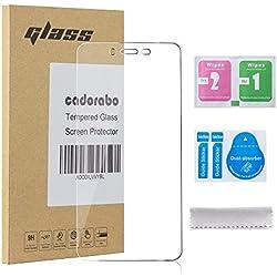 Cadorabo Verre Trempé pour OnePlus One X en Haute Transparent - Film Protection Écran en Verre Trempé pour Display - Tempered Vitre Protection Protecteurs