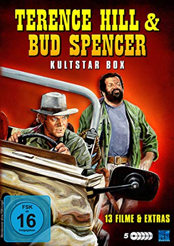 Terence Hill & Bud Spencer - Die Kultstar Big Box [5 DVDs]