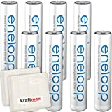Kraftmax 8er-Pack Panasonic Eneloop AAA/Micro...