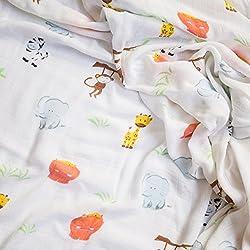 Mantas de muselina para bebes de bambú tierno. De alta calidad y super suaves