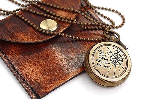 Halskette Kompass