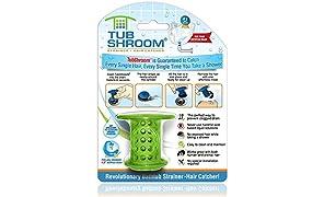 TubShroom Filtro, Verde