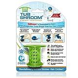 TubShroom, Rivoluzionario Filtro da Vasca e Protettore di Scarichi Cattura-capelli / Setaccio / Rullante, Verde