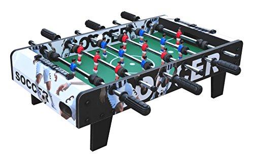 Mini Kicker Tischkicker Tischfußballl aus Holz 70 cm Soccer Edition
