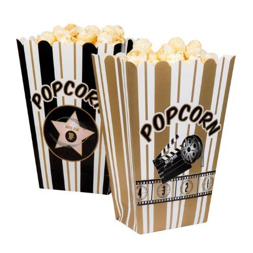 NEU Popcorn Tüte, 4 Stück sortiert