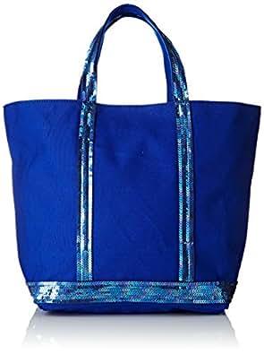 Vanessa Bruno femme Cabas Moyen Cabas Bleu électrique,16x30x43 cm (W x H x L)