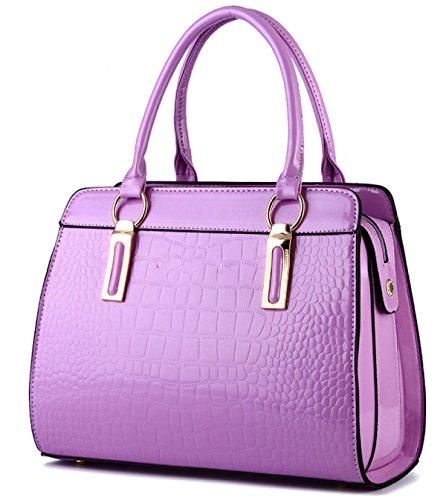 Borsa Dell'unità Di Elaborazione Modo Delle Signore Purple