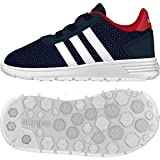 ADIDAS Unisex Baby Lite Racer Inf Sneaker, Azul (Maruni/Ftwbla/Rojpot), 20 EU
