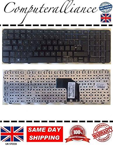 Tastatur mit Rahmen für HP Pavilion G62000Serie, UK-Layout (QWERTY), 699497–031697452 Hp Pavilion G6