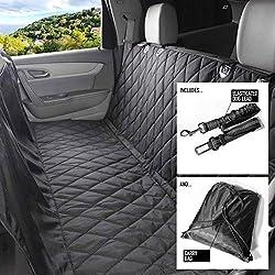 VW PASSAT ESTATE 2011ON HEAVY DUTY WATERPROOF BLACK SEAT COVERS 1+1