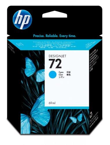 HP 72/C9398A/ TINTE CYAN 69ML VIVERA-TINTE, Kapazität: 69ML