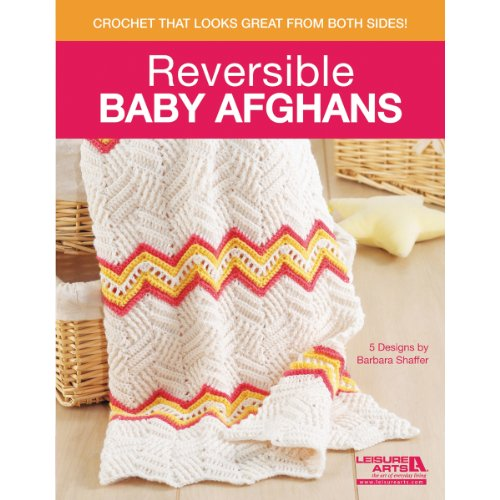 Leisure Arts Papier arts-reversible Baby Afghans (Stricken Baby-afghanen)