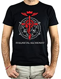 LaMAGLIERIA Camiseta Hombre Alexis On Fire Aof01 - Camiseta Rock Metal 100% Algodòn