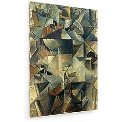 Kasimir Malewitsch - Samowar - 40x60 cm - Leinwandbild auf Keilrahmen - Wand-Bild - Kunst, Gemälde, Foto, Bild auf Leinwand - Alte Meister/Museum